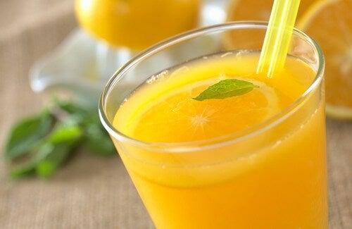 Portakal Suyunun Yararları