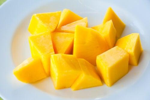 mango dilimleri