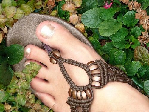 güzel ayaklar için bakım