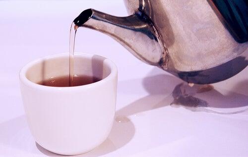 çaydanlık şekersiz çay