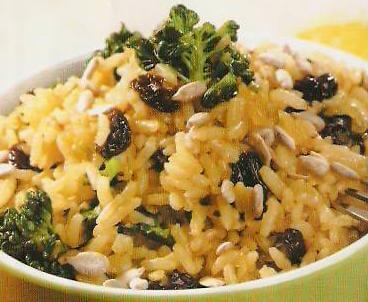 brokoli-pirinç