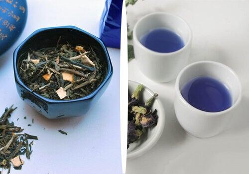 Doğal Yollardan Kilo Vermek için Mavi Çay