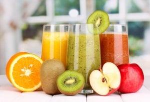 arındırıcı meyve suları