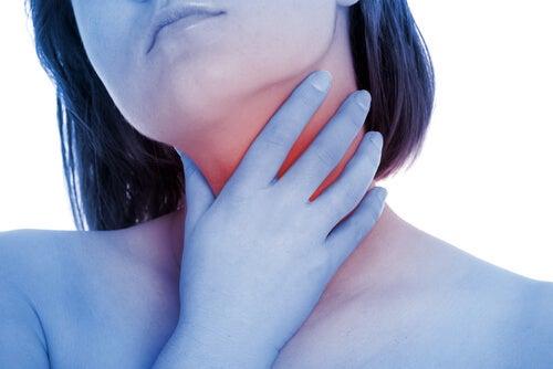 Girl-throat