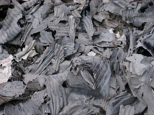 kağıt külleri