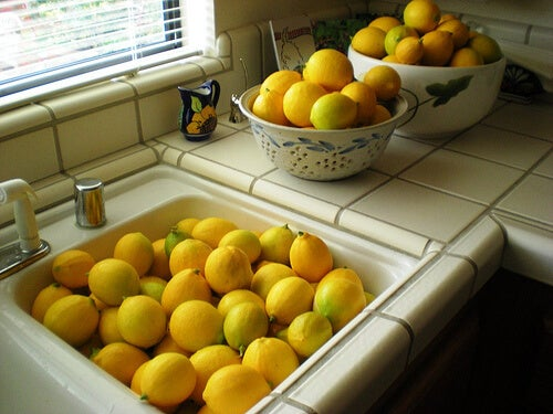 lavabo dolusu limon