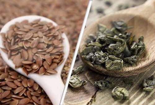 Kansere Karşı Yardımcılarımız, Keten Tohumu ve Yeşil Çay
