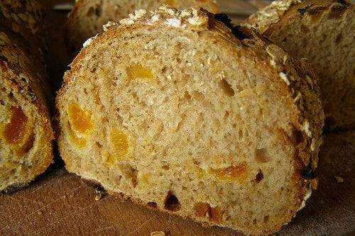 yulaf ezmesi ekmeği