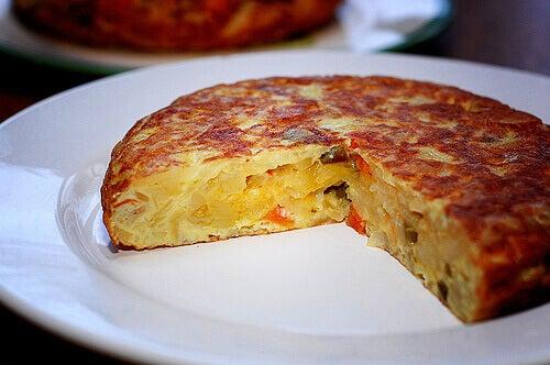 yumurtalı tortilla