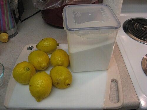 şeker ve limon