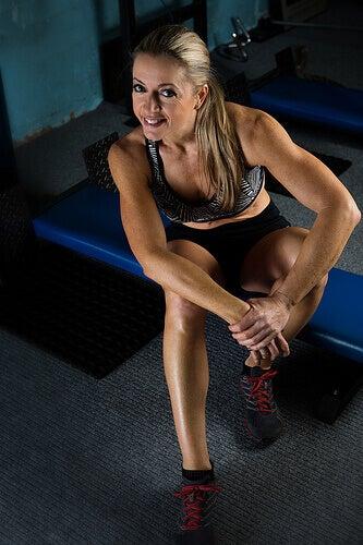 sporcu kadın