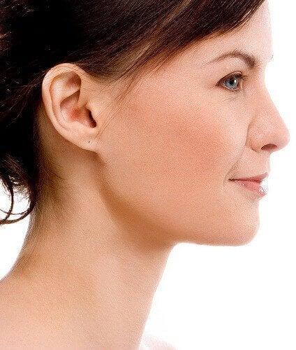 kadın yüz profil