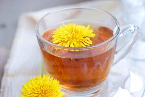 bedeninizi arındırmak için karahindiba çayı