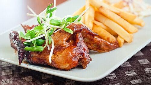sağlıklı tavuk