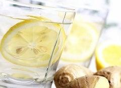 limonlu-zencefilli-içecek