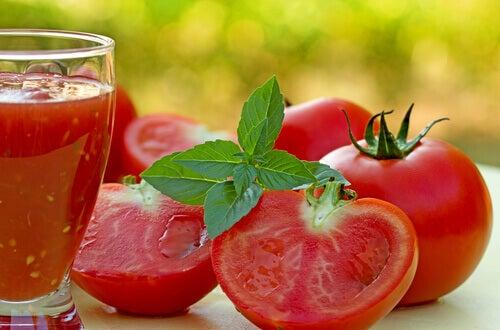 karın yağlarını eriten domates