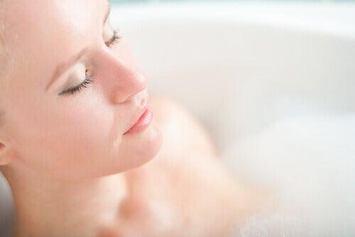 oksijenli su ile güzellik banyosu