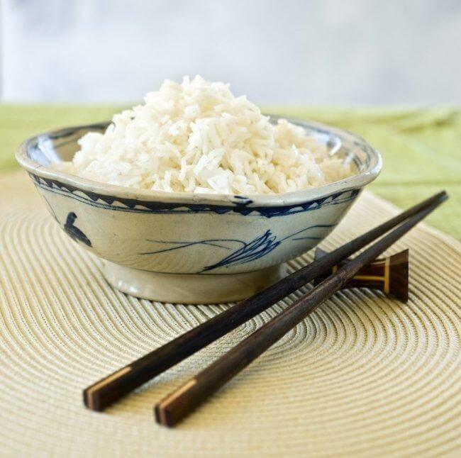 Japon usulü pirinç pilavı