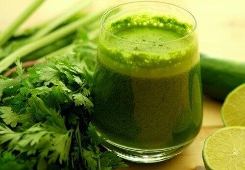 yeşil içecek