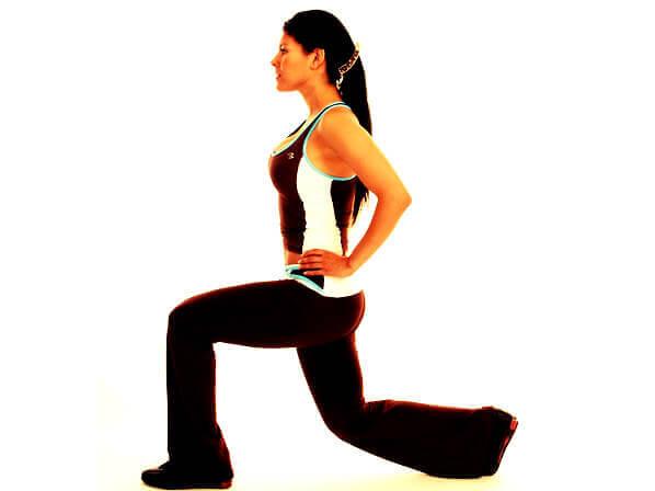 sıkı kalça kasları için egzersiz