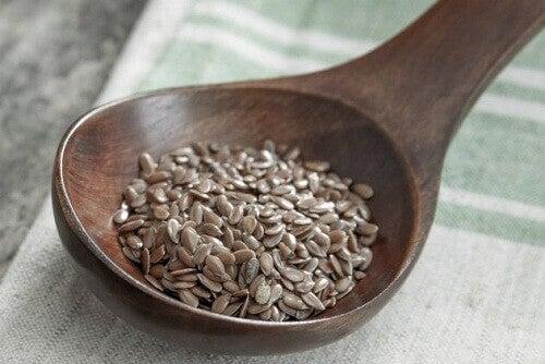 migren için keten tohumu