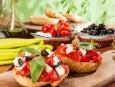 domates peynir zeytinli ekmek