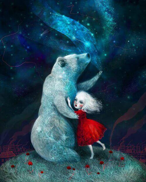 ayı ve kız