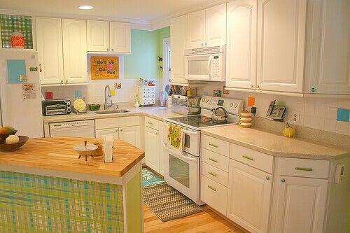 temiz mutfak