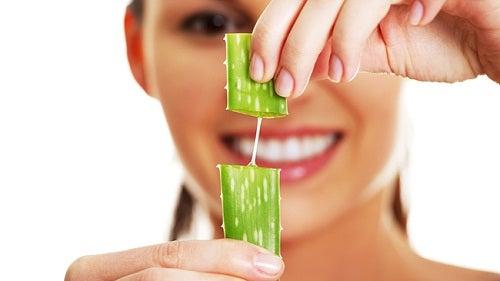 Aloe vera ile saç bakımı