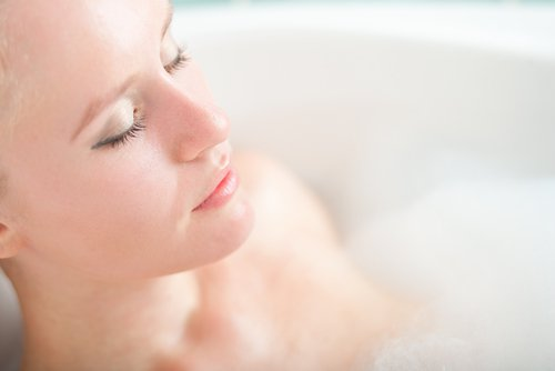 rahatlamak için banyo