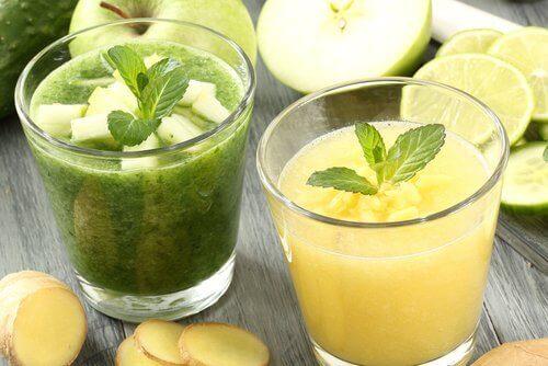 limon elma detoks içecekler