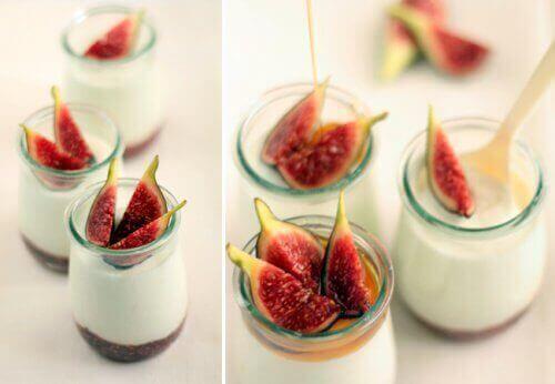 incir-yoğurt