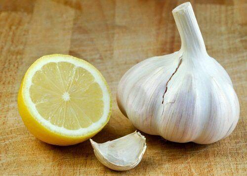 sarımsak ve limon