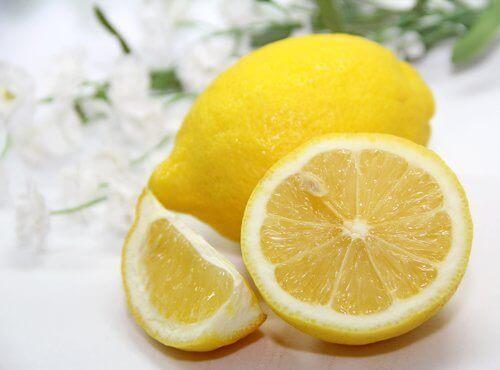sağlıklı dişler için limon