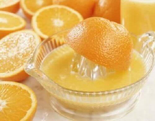 sıkma portakal suyu