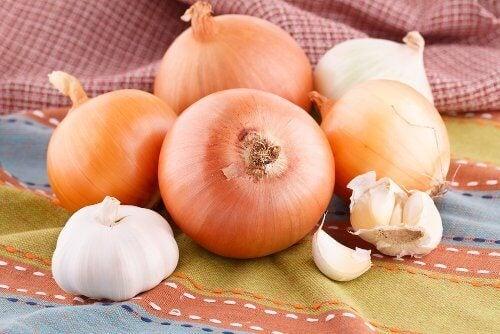sarımsak ve soğan