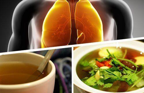 ciğerler çay öksürük