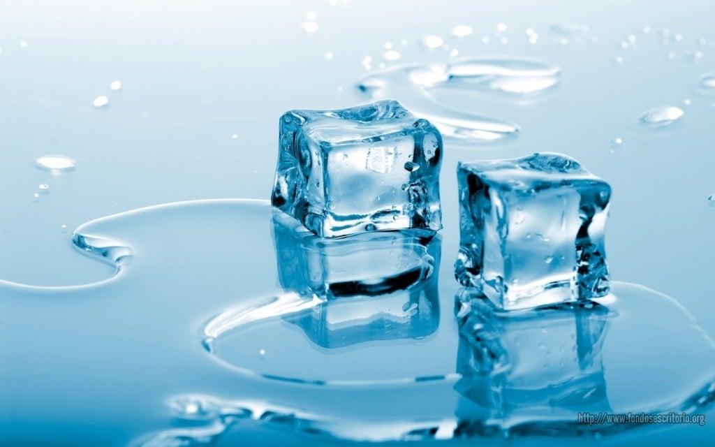 2 küp buz