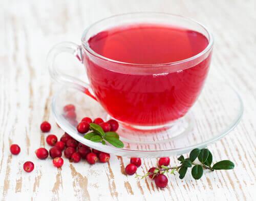 kızılcık çayı