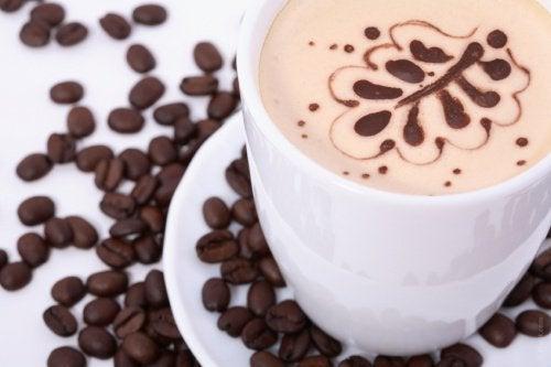 desenli kahve