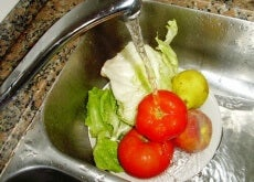sebze yıkama