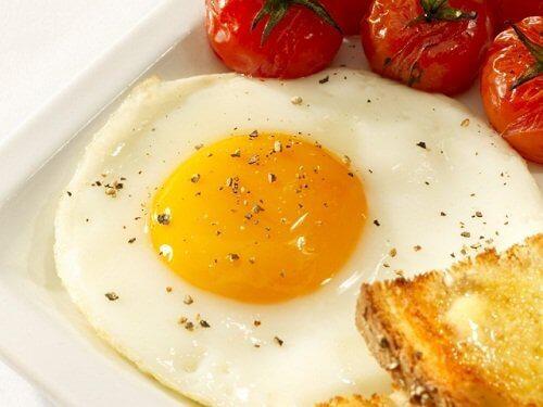 yumurta ve domates