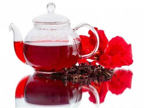 ebegümeci çayı