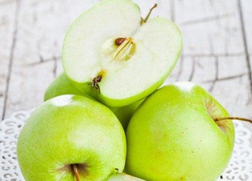 kesilmiş elma