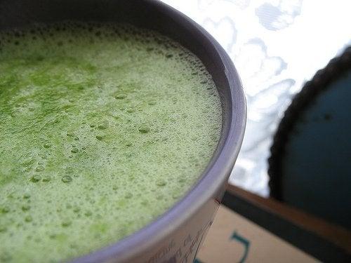 yeşil smoothie 3