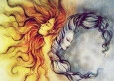 iki kadın kafası