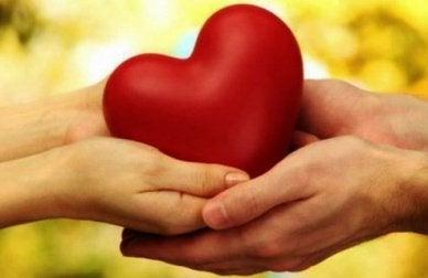 kalp tutan çift
