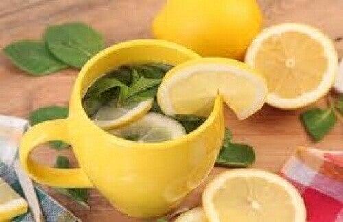 limon kabuğu çayı