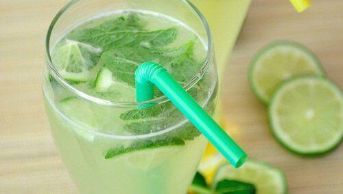 limon nane suyu