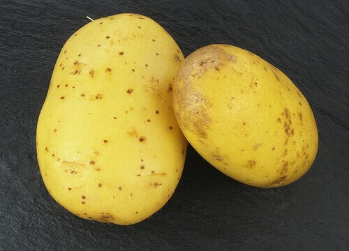 çiğ patates